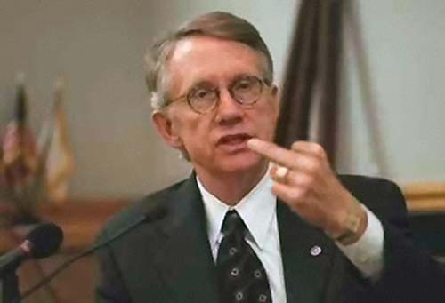 Soon to be Ex-Senator Harry Reid
